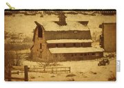 Vintage Perry Park Barn Carry-all Pouch