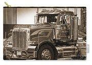 Vintage Peterbilt Truck Carry-all Pouch