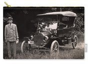 Vintage Photo Of Rural Mail Carrier - 1914 Carry-all Pouch