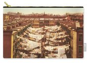 Vintage Photo Of Washing Day In New York City 1900 Carry-all Pouch