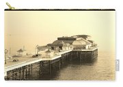 Vintage Pier At Dawn Carry-all Pouch