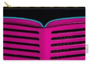 Vintage Pink Grille Carry-all Pouch