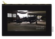 Vintage Planes Silhouette Carry-all Pouch