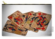 Vintage Playing Cards Art Prints Carry-all Pouch