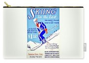 Vintage Poster - Sports - Skiing Carry-all Pouch