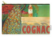 Vintage Poster Advertising Cognac Carry-all Pouch by Camille Bouchet