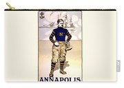 Vintage Poster - Naval Academy Midshipman Carry-all Pouch