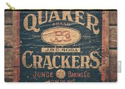 Vintage Quaker Crackers For The Kitchen Carry-all Pouch