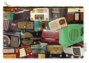 Vintage Radios Carry-all Pouch