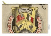 Vintage Train Ad 1897 Carry-all Pouch