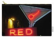 Vintage Red Barn Neon Sign Las Vegas Carry-all Pouch