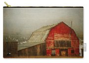 Vintage Red Barn Carry-all Pouch