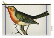 Vintage Robin Vertical Carry-all Pouch