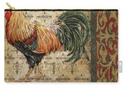 Vintage Rooster-d Carry-all Pouch