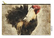Vintage Rooster Carry-all Pouch