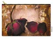 Vintage Rose Petals Carry-all Pouch