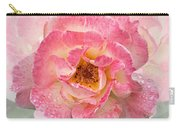 Vintage Rose Square Carry-all Pouch