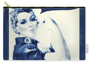 Vintage Rosie The Riveter Carry-all Pouch by Dan Sproul