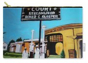 Vintage Route 66 Diner Sleeper Carry-all Pouch