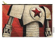 Vintage Russian Robot Poster Carry-all Pouch