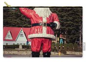 Vintage Santa Claus Christmas Card Carry-all Pouch by Edward Fielding