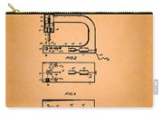 Vintage Sewing Machine Patent Carry-all Pouch