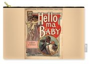 Vintage Sheet Music Cover Circa 1900 Carry-all Pouch