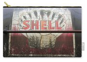 Vintage Shell Oil Rail Tanker Car Carry-all Pouch