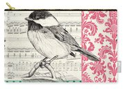 Vintage Songbird 3 Carry-all Pouch