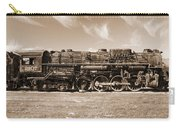 Vintage Steam Locomotive Carry-all Pouch