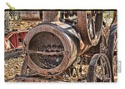 Vintage Steam Tractor Carry-all Pouch by Douglas Barnard