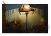 Vintage Still Life And Lamp Carry-all Pouch