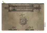 Vintage Syringe Patent Drawing Carry-all Pouch