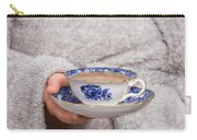 Vintage Teacup Carry-all Pouch