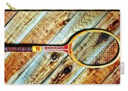 Vintage Tennis Carry-all Pouch by Benjamin Yeager