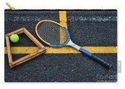 Vintage Tennis Carry-all Pouch by Paul Ward