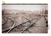 Vintage Tracks Carry-all Pouch