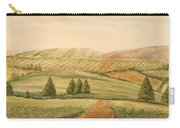 Vintage Tuscan Landscape-2 Carry-all Pouch
