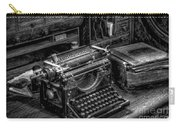 Vintage Typewriter Carry-all Pouch by Adrian Evans