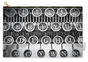 Vintage Typewriter Carry-all Pouch by Edward Fielding