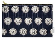 vintage Typewriter Keys Carry-all Pouch