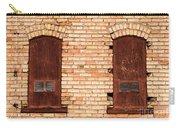 Vintage Urban Brick Building - Salt Lake City Carry-all Pouch