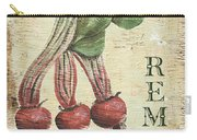 Vintage Vegetables 3 Carry-all Pouch