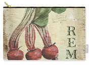 Vintage Vegetables 3 Carry-all Pouch by Debbie DeWitt