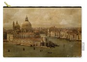 Vintage Venice Carry-all Pouch by Lois Bryan