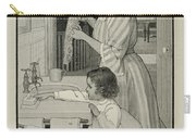 Vintage Victorian Soap Advert Carry-all Pouch