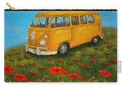 Vintage Vw Bus Carry-all Pouch