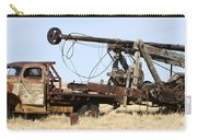 Vintage Water Well Drilling Truck Carry-all Pouch