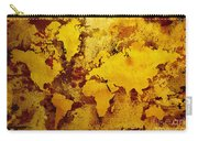 Vintage World Map Carry-all Pouch by Zaira Dzhaubaeva