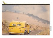 Vintage Yellowstone Bus Carry-all Pouch